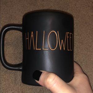 Rae Dunn Happy Halloween Mug Black LL